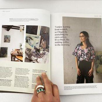Andrea Bolima: Homestyle Magazine Interview